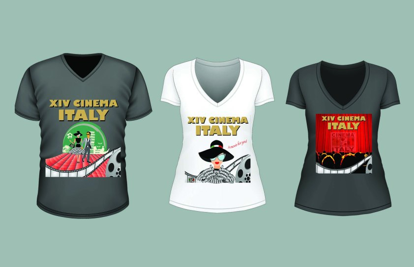 T-shirt: Cinema Italy
