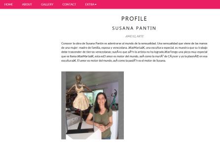 About Susana Pantin