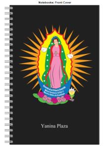 Notebook Virgen