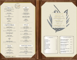 Menu: Fresh Restaurant